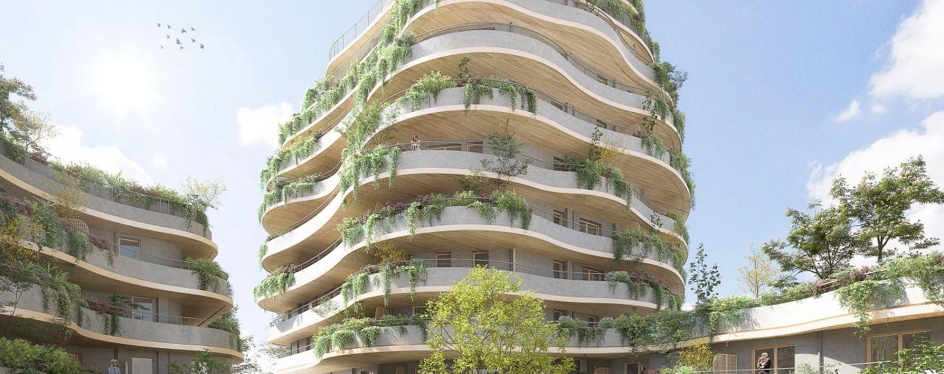 Angers : programme immobilier neuve « Les Jardins d'Arborescence »