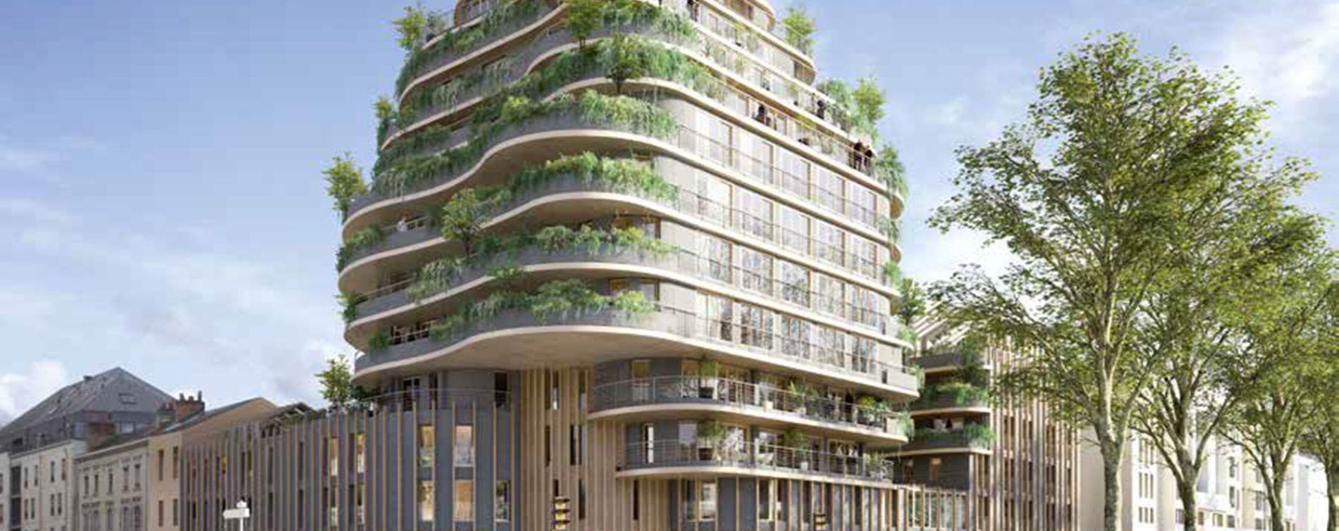 Angers : programme immobilier neuve « Les Jardins d'Arborescence » (2)