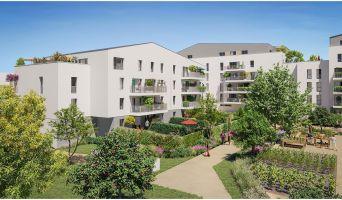 Angers programme immobilier neuve « Les Jardins d'Elise » en Loi Pinel