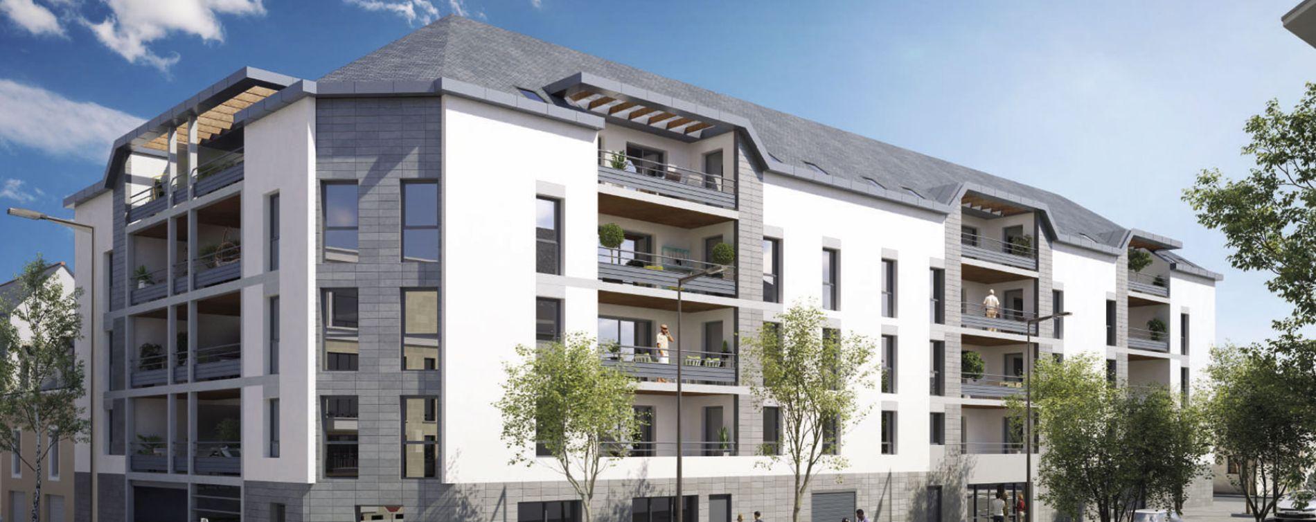 Angers : programme immobilier neuve « Ney'Sens » en Loi Pinel