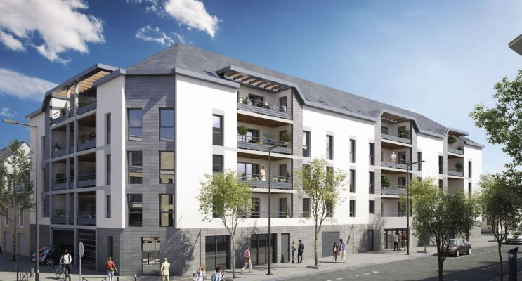 Angers : programme immobilier neuf « Ney'Sens » en Loi Pinel