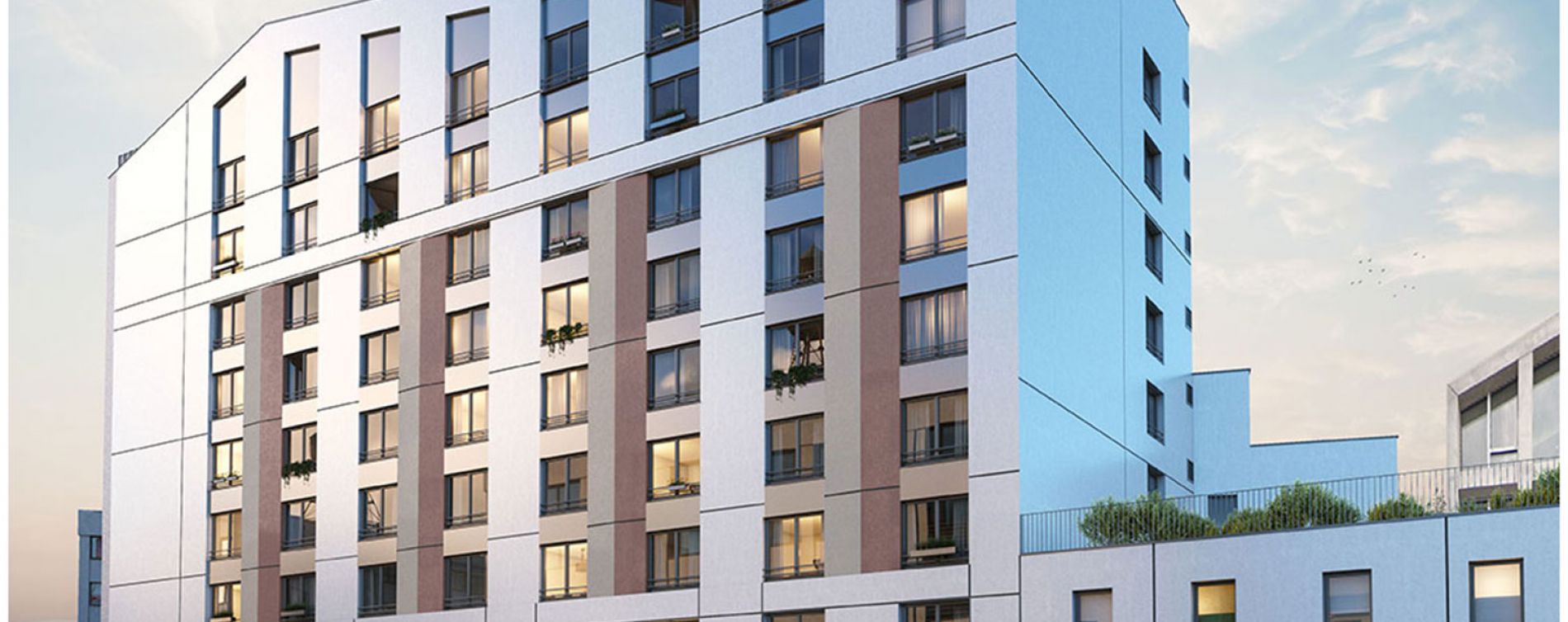 Angers : programme immobilier neuve « RTA Skyline »