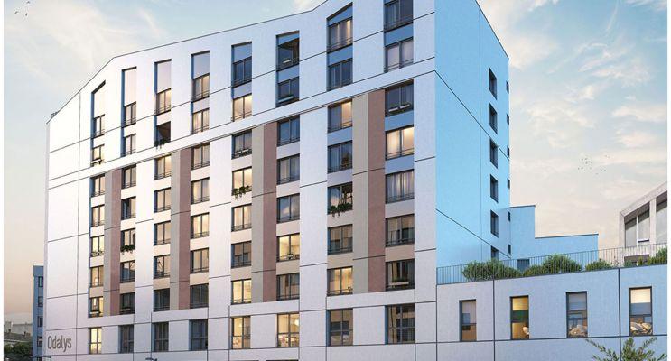 Angers : programme immobilier neuf « RTA Skyline »