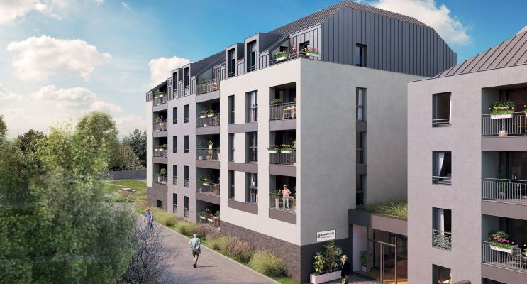 Photo du Résidence « Sénioriales - Angers » programme immobilier neuf à Angers