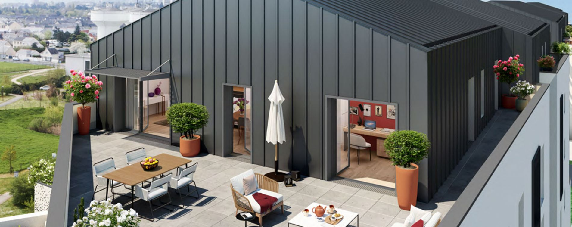 Angers : programme immobilier neuve « Trio Verde » en Loi Pinel (2)