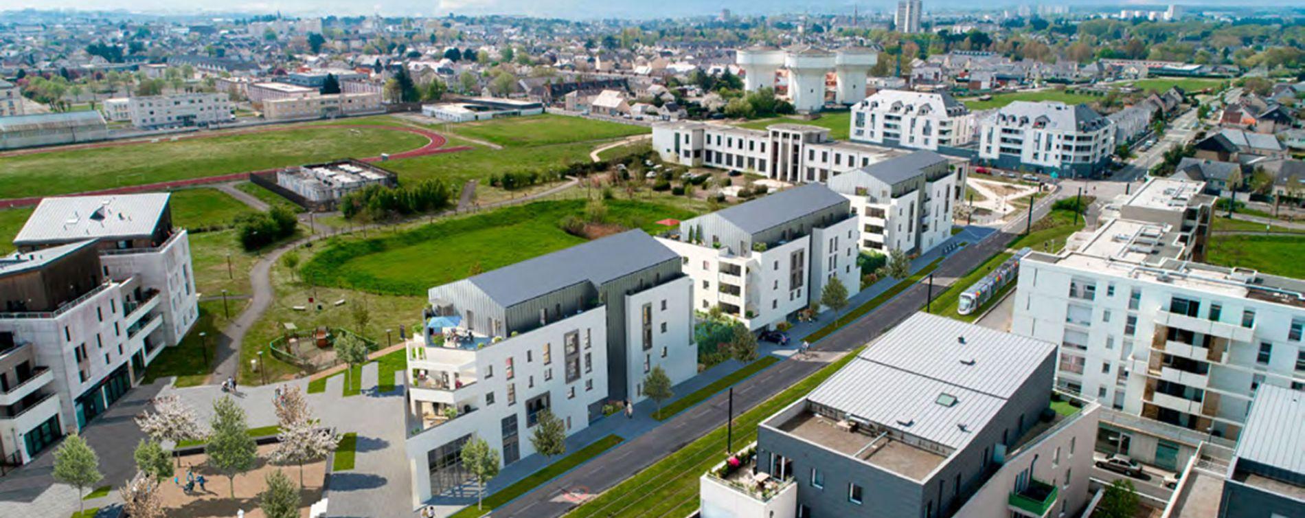 Angers : programme immobilier neuve « Trio Verde » en Loi Pinel (3)