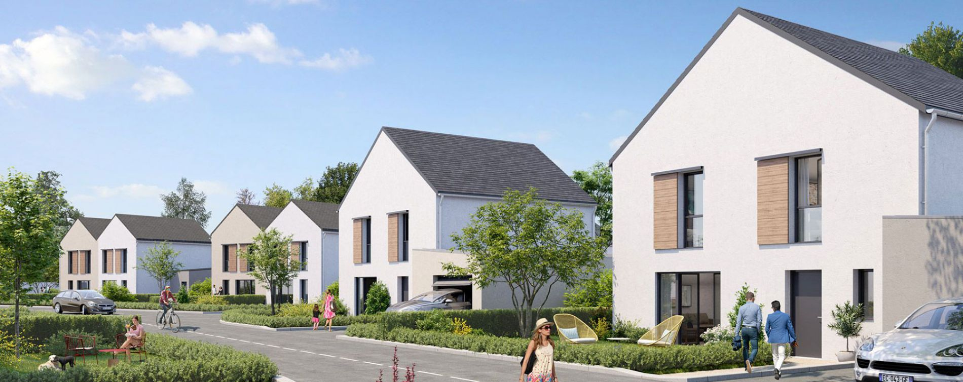 Bouchemaine : programme immobilier neuve « Le Domaine de Rochebrune »