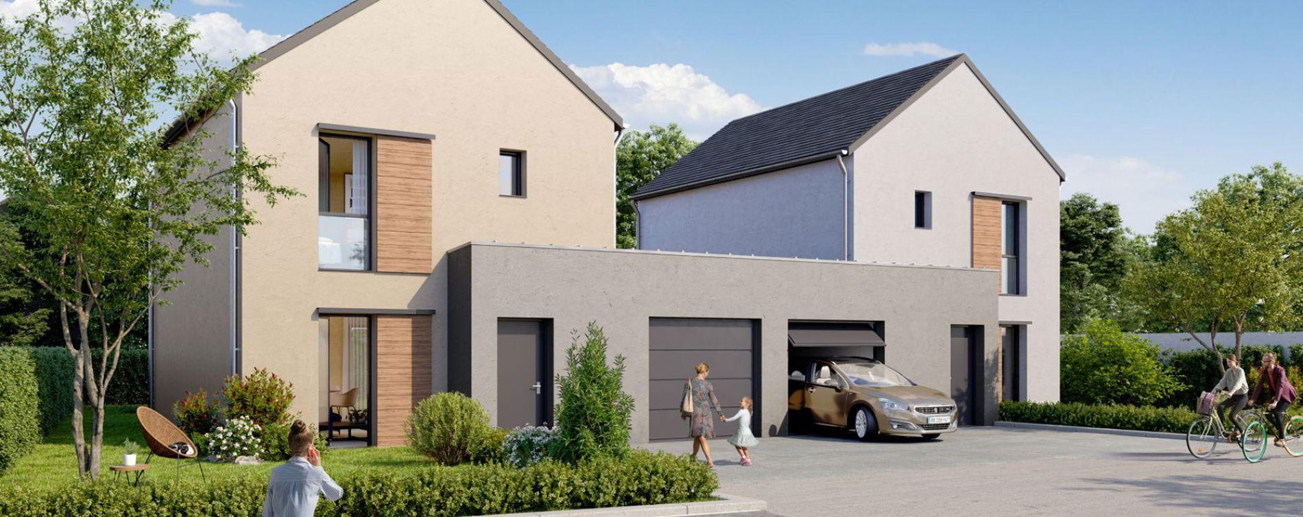 Bouchemaine : programme immobilier neuve « Le Domaine de Rochebrune » (2)