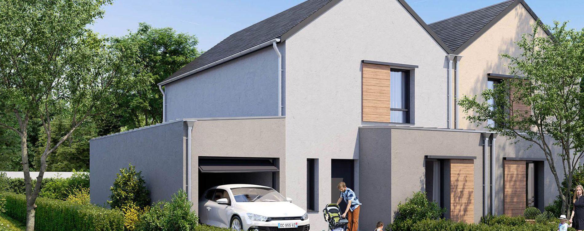 Bouchemaine : programme immobilier neuve « Le Domaine de Rochebrune » (4)