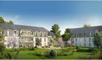 Photo du Résidence « Les Girandières les Jardins de la Moine » programme immobilier neuf à Cholet
