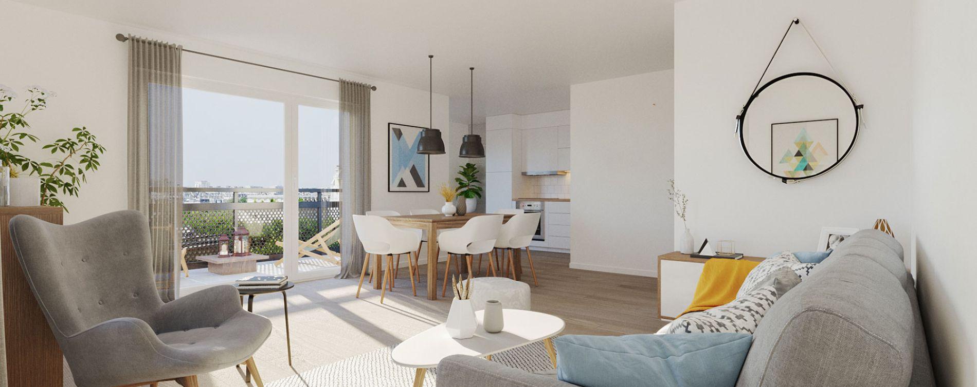 Les Ponts-de-Cé : programme immobilier neuve « Novela » (3)