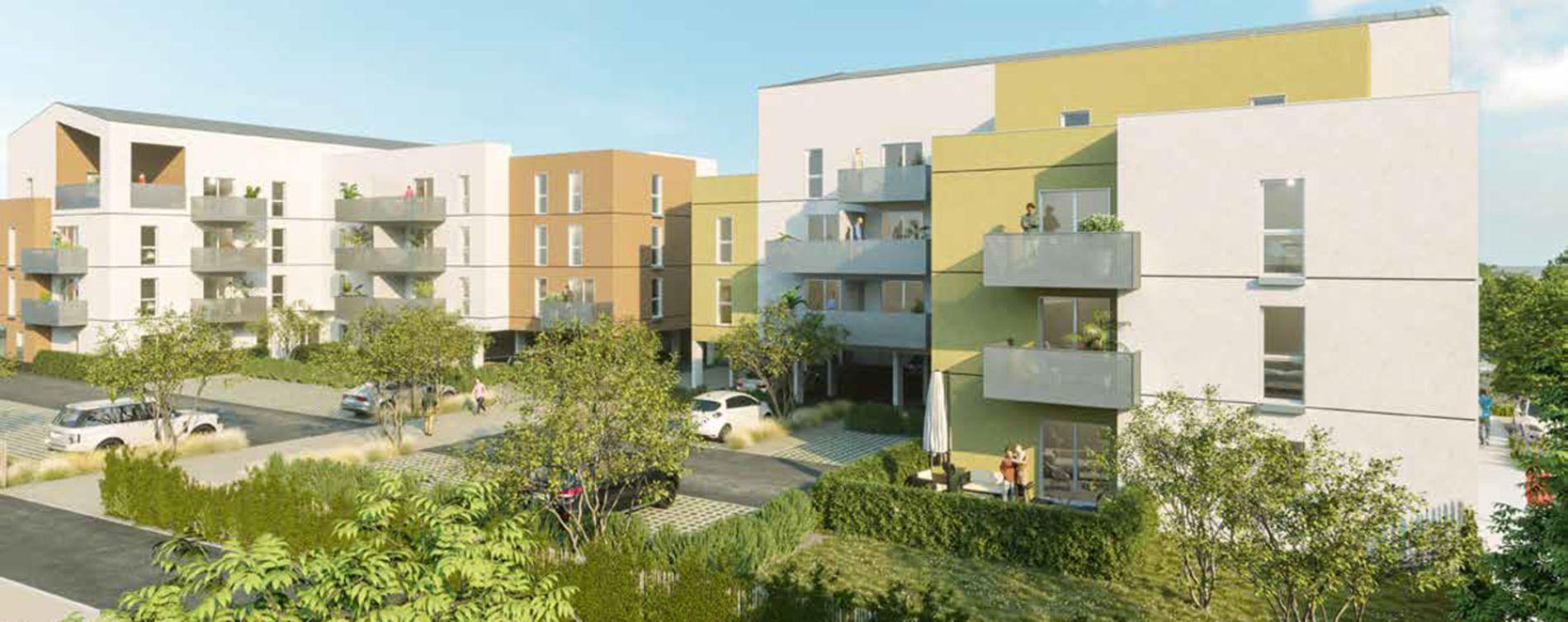 Les Ponts-de-Cé : programme immobilier neuve « Villa Piléa »
