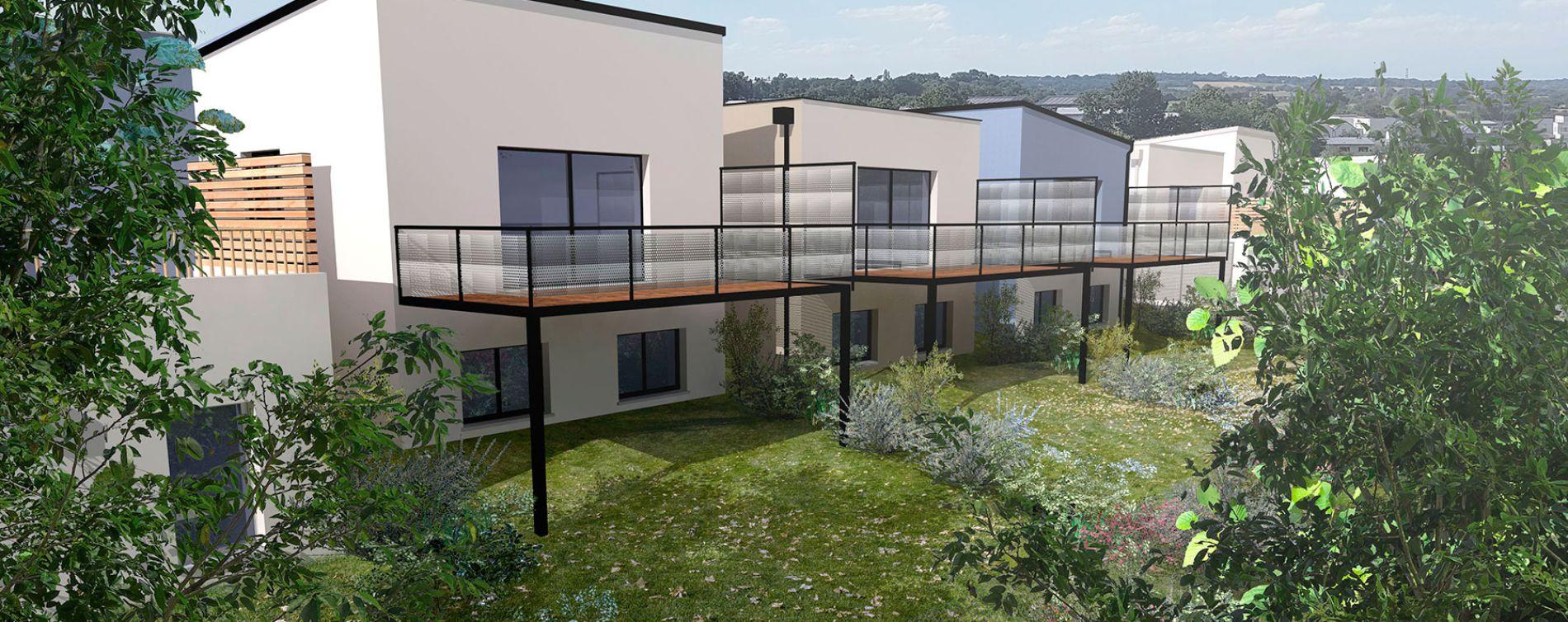 Montreuil-Juigné : programme immobilier neuve « Équinoxe - Ilot E »