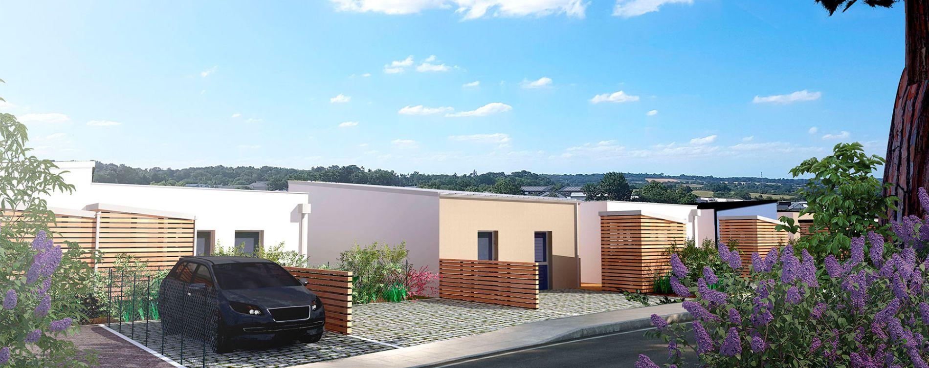 Montreuil-Juigné : programme immobilier neuve « Équinoxe - Ilot E » (2)