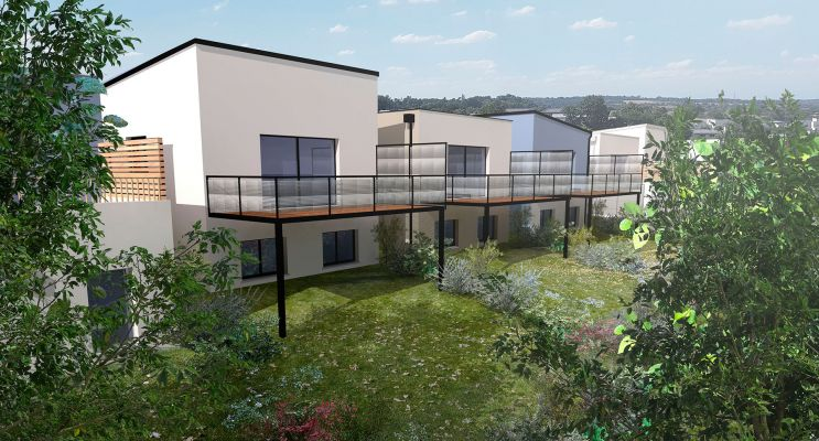 Photo du Résidence « Équinoxe - Ilot E » programme immobilier neuf à Montreuil-Juigné