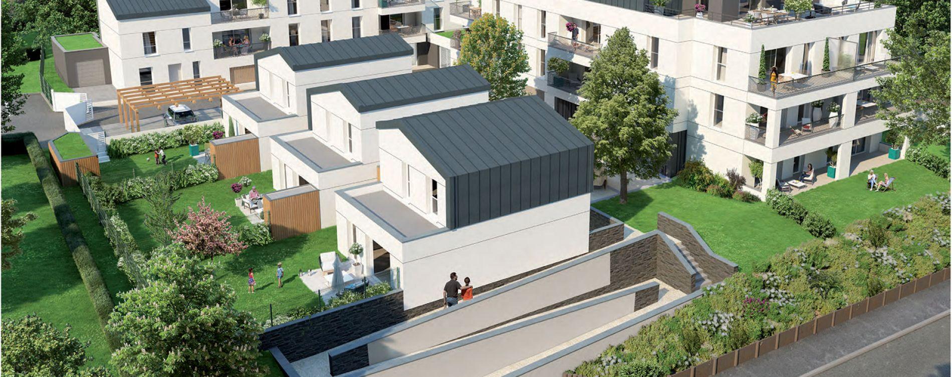 Montreuil-Juigné : programme immobilier neuve « Villa Siloé »