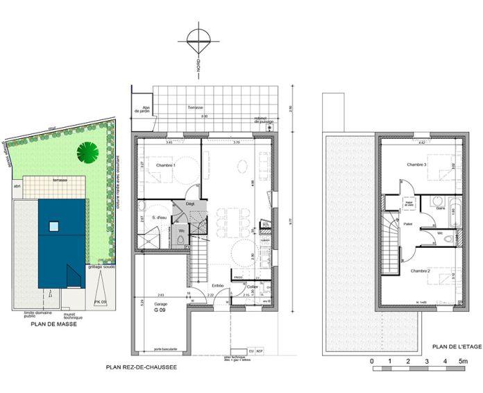 Maison t4 m rs erign n 696 sud ouest programme for Appartement ou maison
