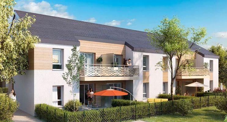 Résidence « Le Domaine St-Vincent » programme immobilier neuf à Mûrs-Erigné n°2