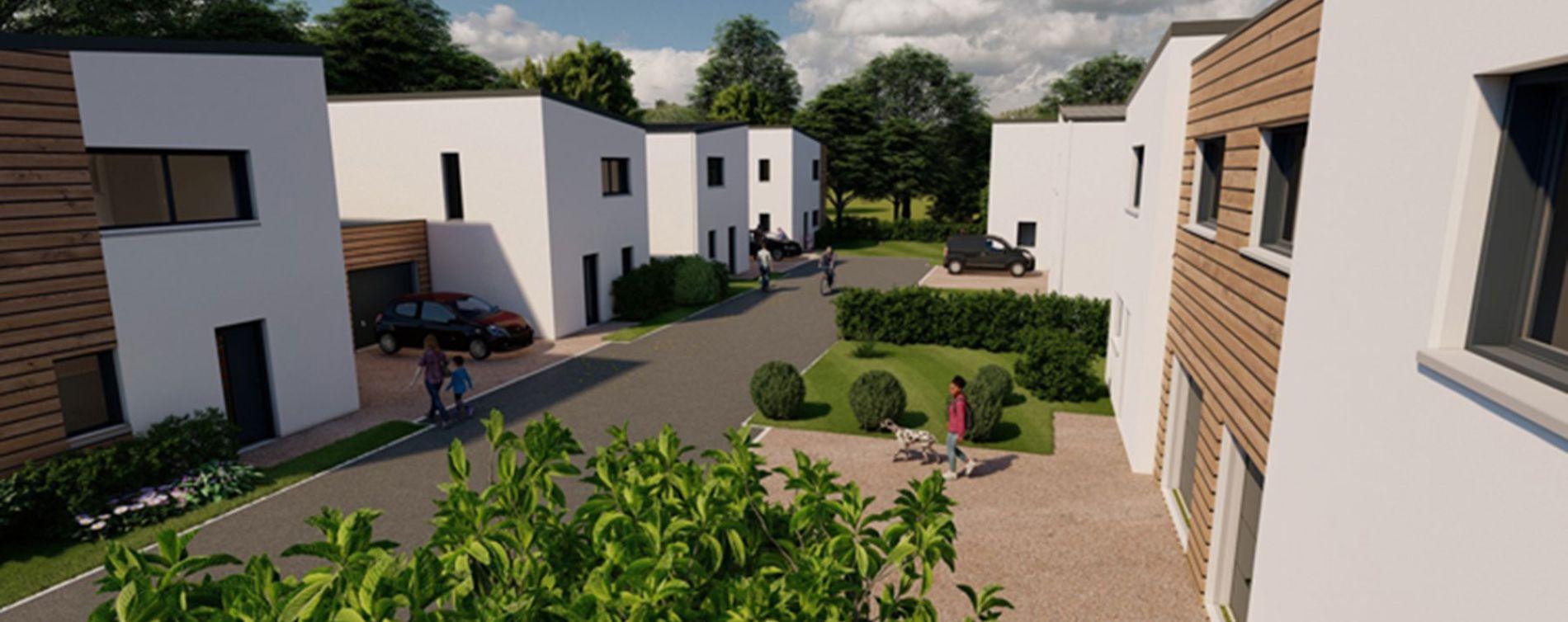 Saint-Sylvain-d'Anjou : programme immobilier neuve « Les Rives de l'Èpervière » (2)