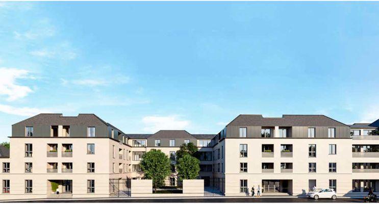 Photo n°2 du Résidence « La Girandière Reflets De Loire » programme immobilier neuf à Saumur