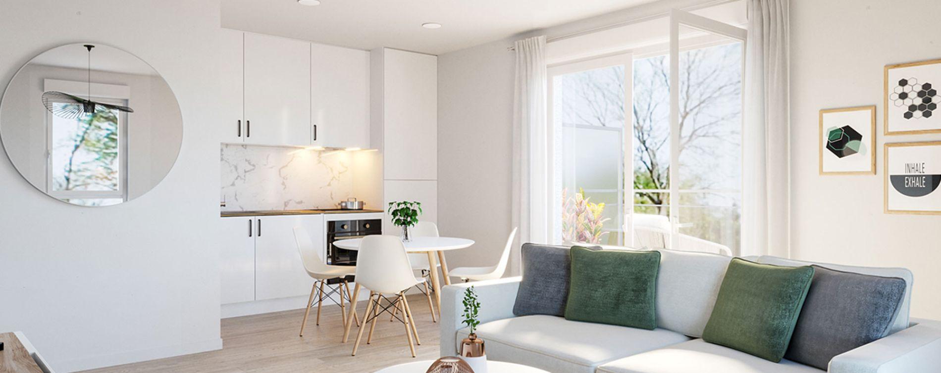 Trélazé : programme immobilier neuve « Faubourg d'Anaé » (2)