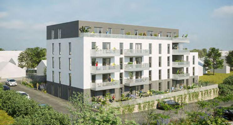 Laval : programme immobilier neuf « Le Clos 111 » en Loi Pinel