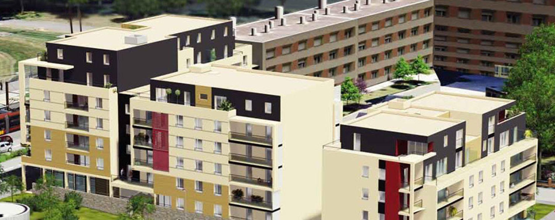 Le Mans : programme immobilier neuve « Connex'City » (2)
