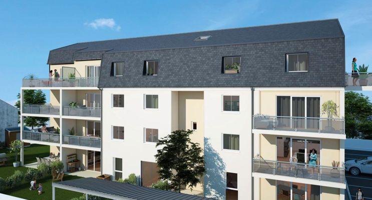 Photo du Résidence « Osmose » programme immobilier neuf à Le Mans