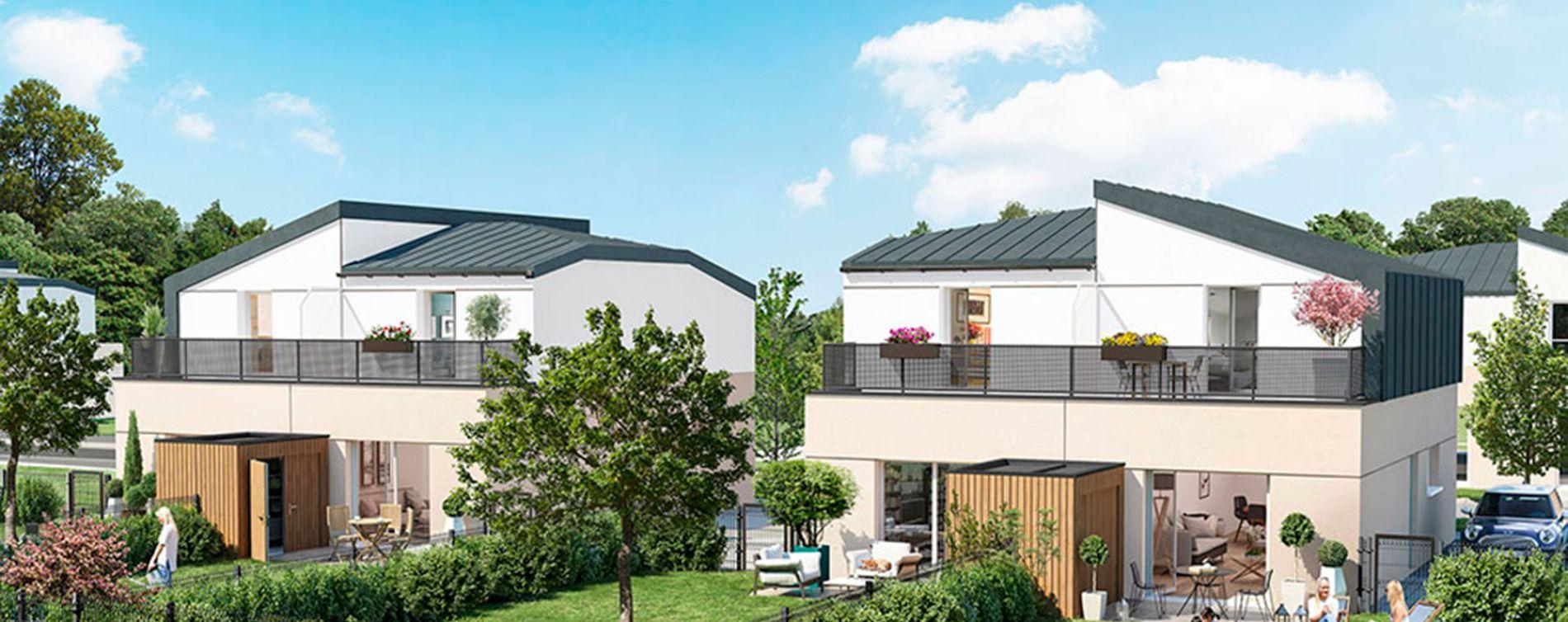 Le Mans : programme immobilier neuve « Parc Beau'Lieu »