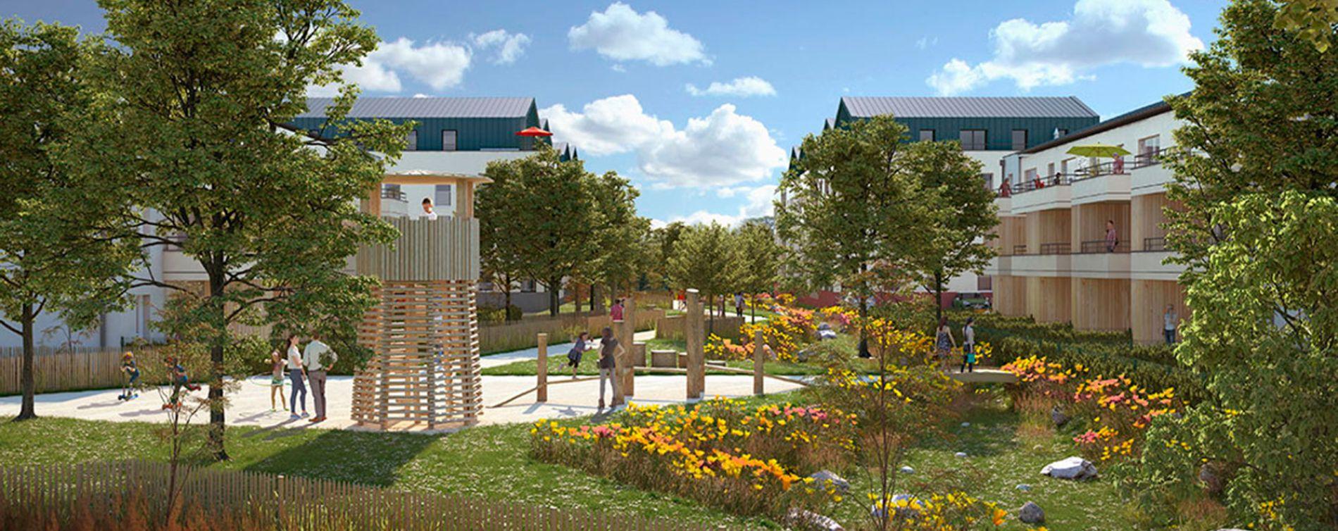 Le Mans : programme immobilier neuve « Parc Beau'Lieu » (2)