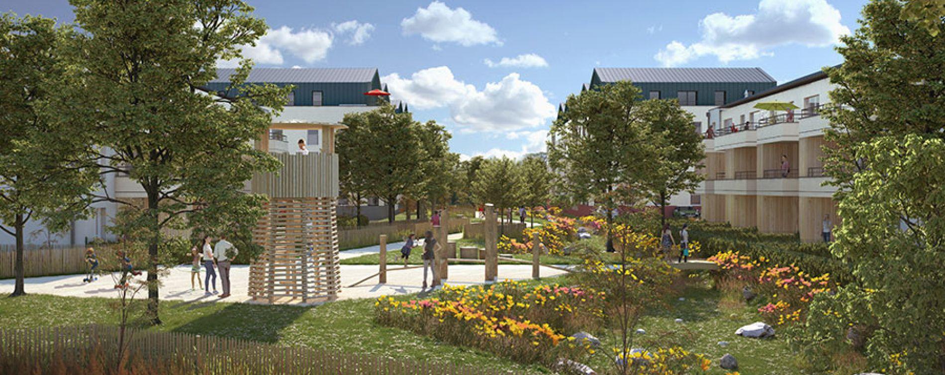 Résidence Parc Beau'Lieu au Mans