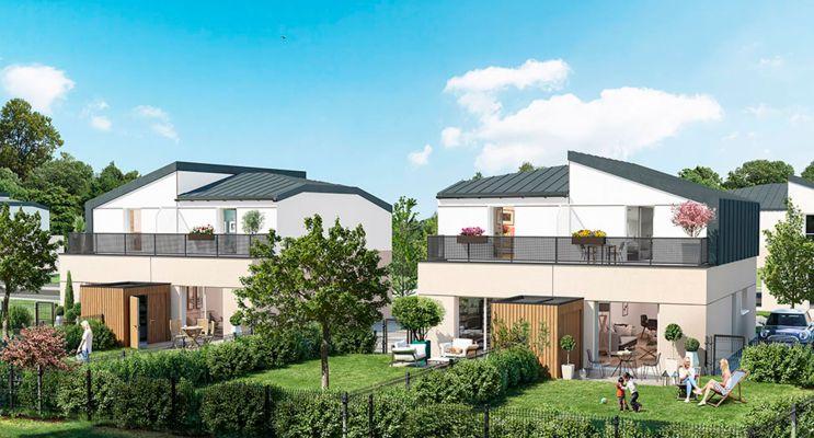 Photo du Résidence « Parc Beau'Lieu » programme immobilier neuf à Le Mans