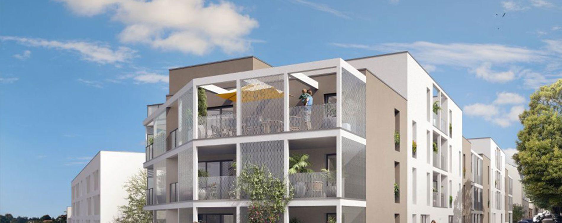 La Roche-sur-Yon : programme immobilier neuve « Le Clos du Haras » (2)