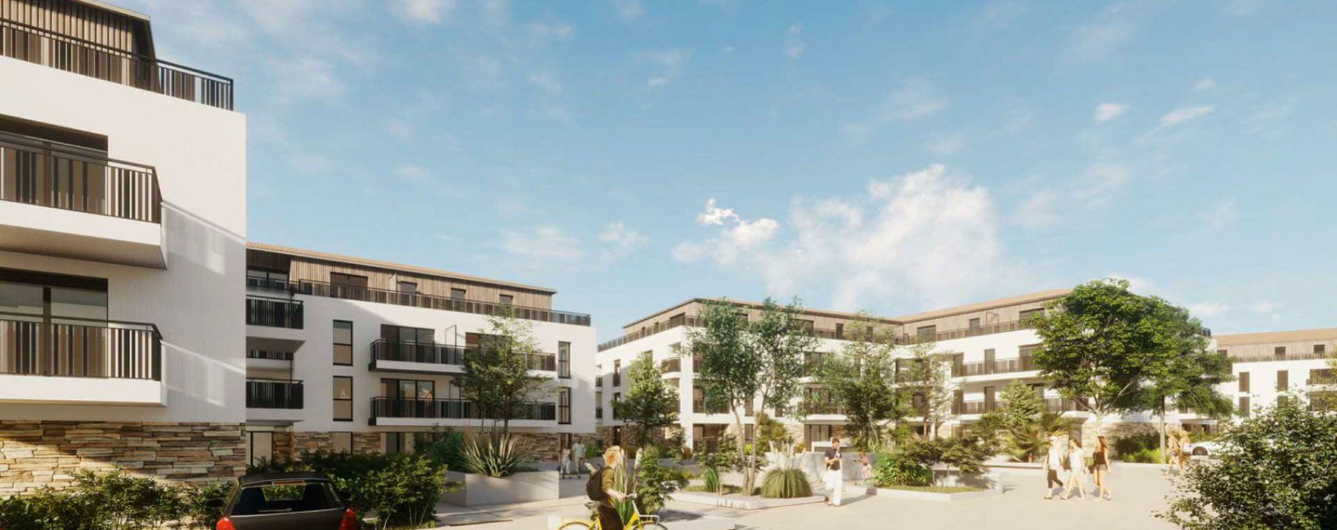 Les Sables-d'Olonne : programme immobilier neuve « Le Domaine des Cyprès »