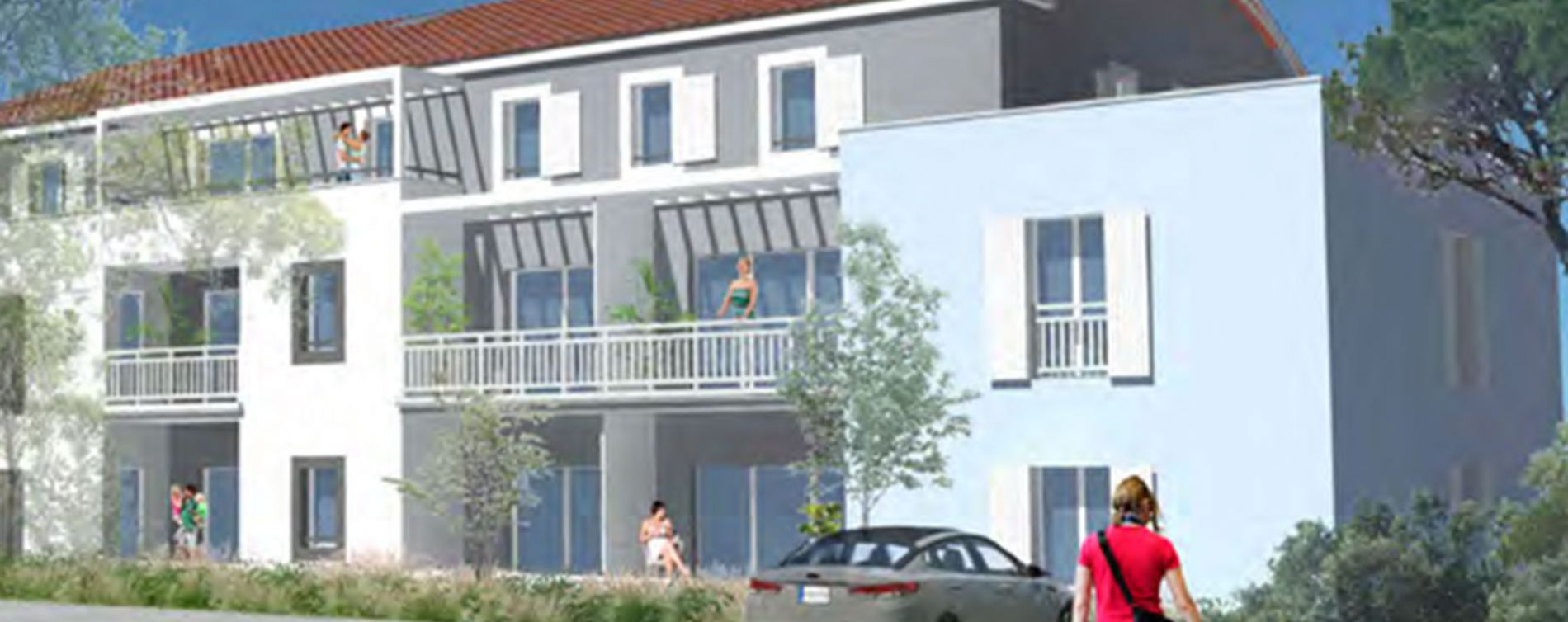 Les Sables-d'Olonne : programme immobilier neuve « Olonéa »