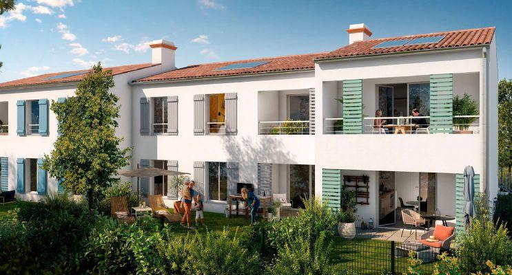 Résidence « Esprit Longère » programme immobilier neuf en Loi Pinel à Noirmoutier-en-l'Île n°2