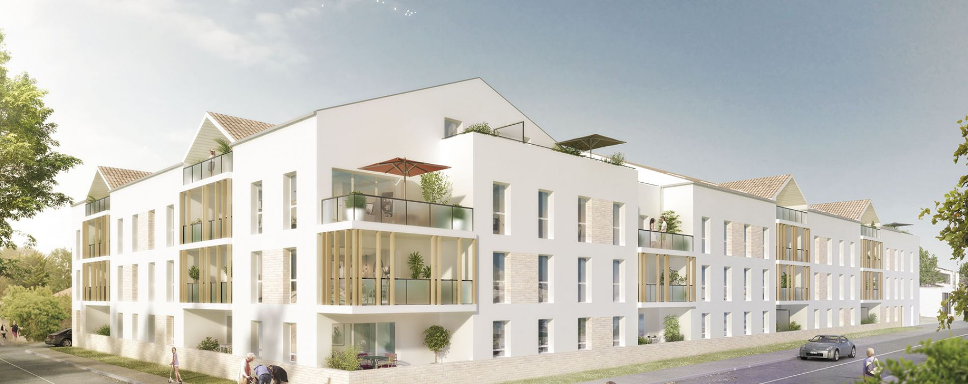 Saint-Jean-de-Monts : programme immobilier neuve « Luminéa »