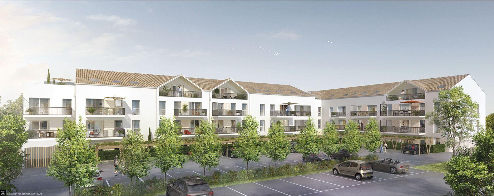 Saint-Jean-de-Monts : programme immobilier neuve « Luminéa » (2)