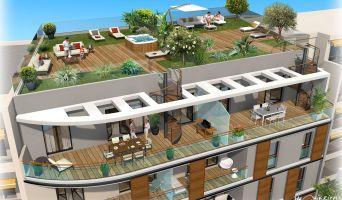 Résidence « 38 Foch » programme immobilier neuf en Loi Pinel à Antibes n°3