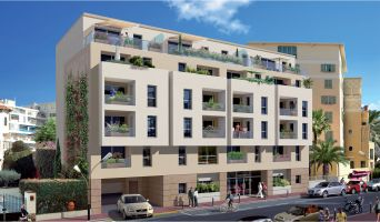 Antibes : programme immobilier neuf « Melody » en Loi Pinel