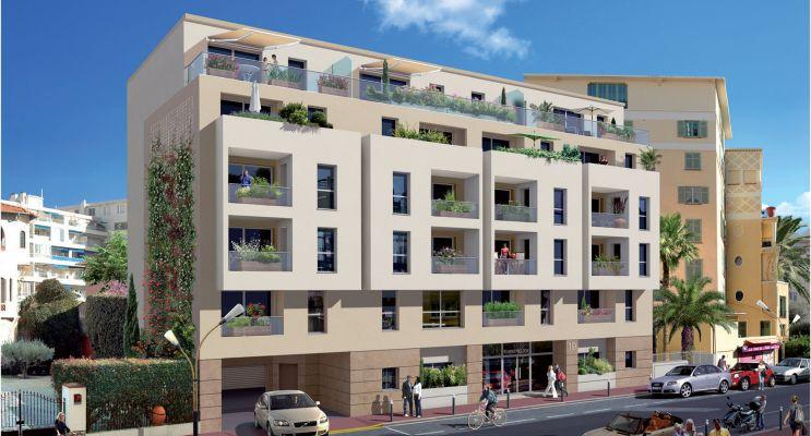 Photo du Résidence « Melody » programme immobilier neuf en Loi Pinel à Antibes