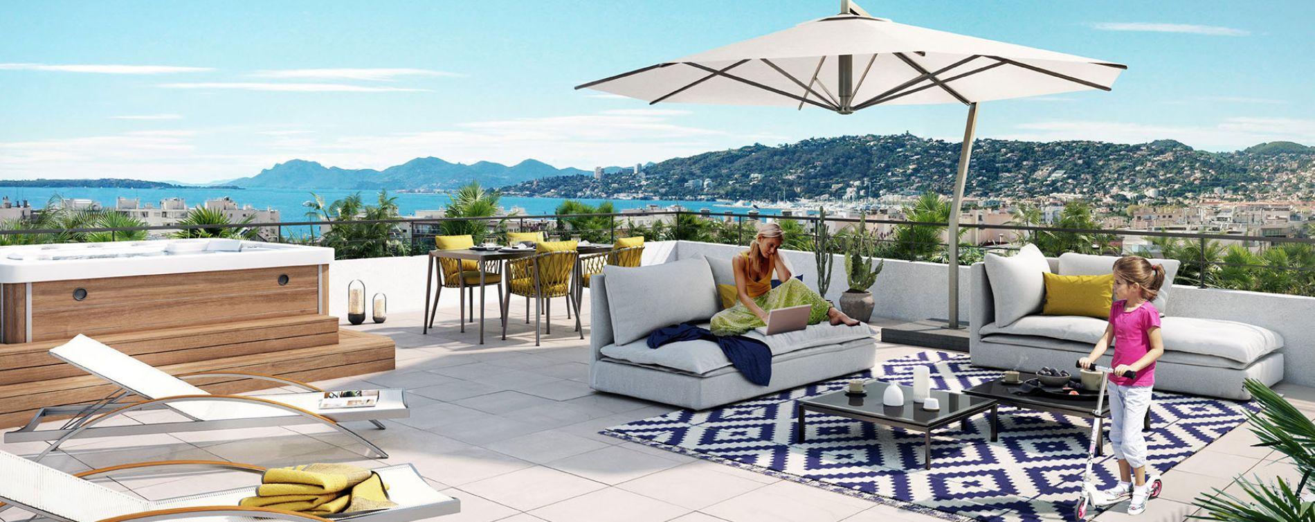 Antibes : programme immobilier neuve « O'Cap » en Loi Pinel
