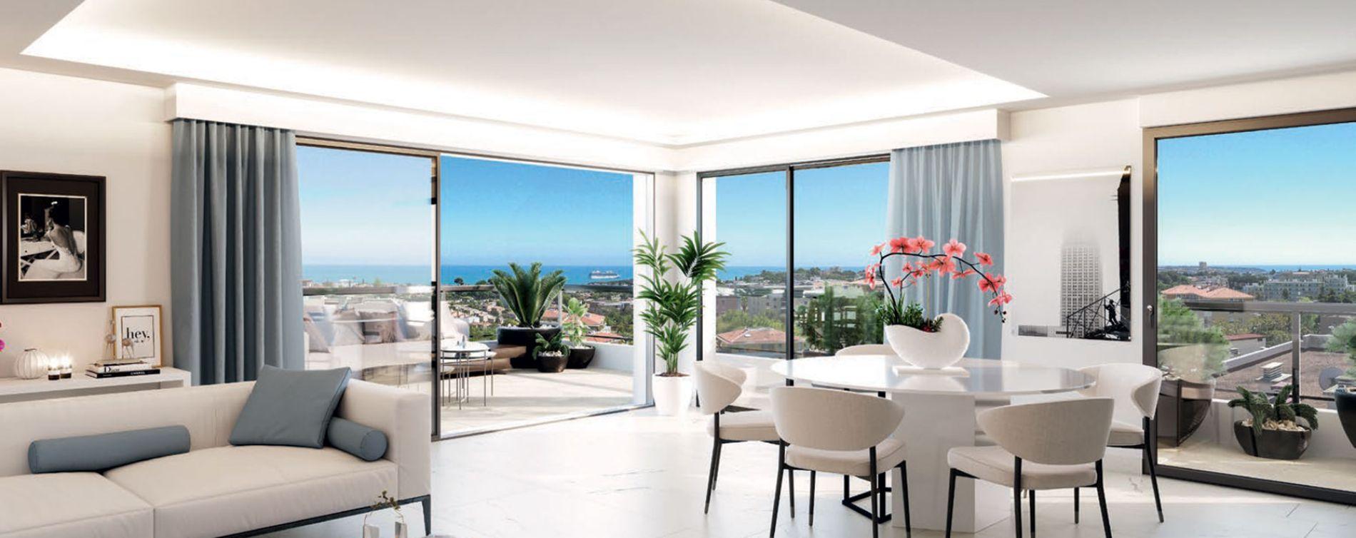 Antibes : programme immobilier neuve « Parc Bel Azur » (3)