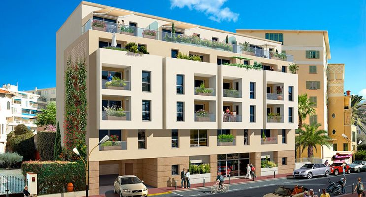 Antibes programme immobilier neuf « Riviera Melody