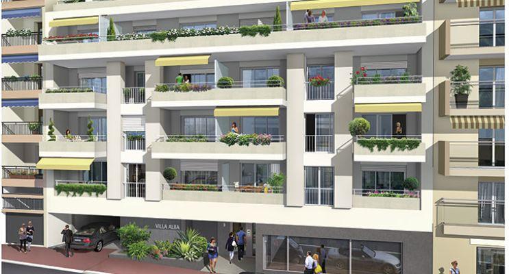 Résidence « Villa Alba » programme immobilier neuf en Loi Pinel à Antibes