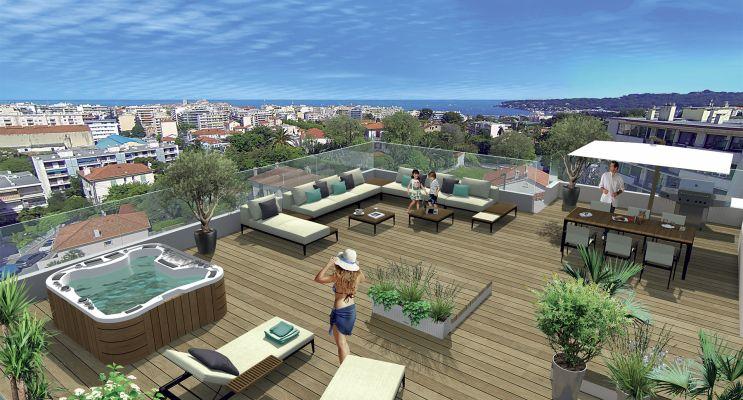Antibes programme immobilier neuf « Zenith » en Loi Pinel