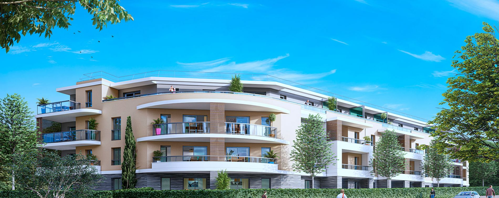 Auribeau-sur-Siagne : programme immobilier neuve « Ellipse »