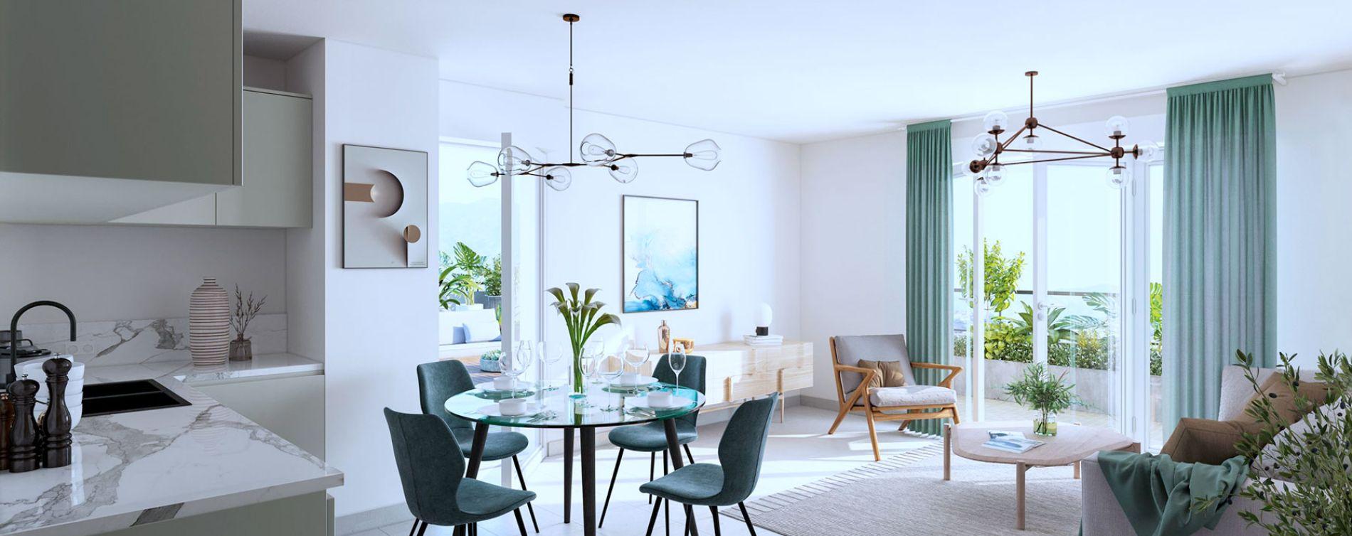 Auribeau-sur-Siagne : programme immobilier neuve « Ellipse » (2)