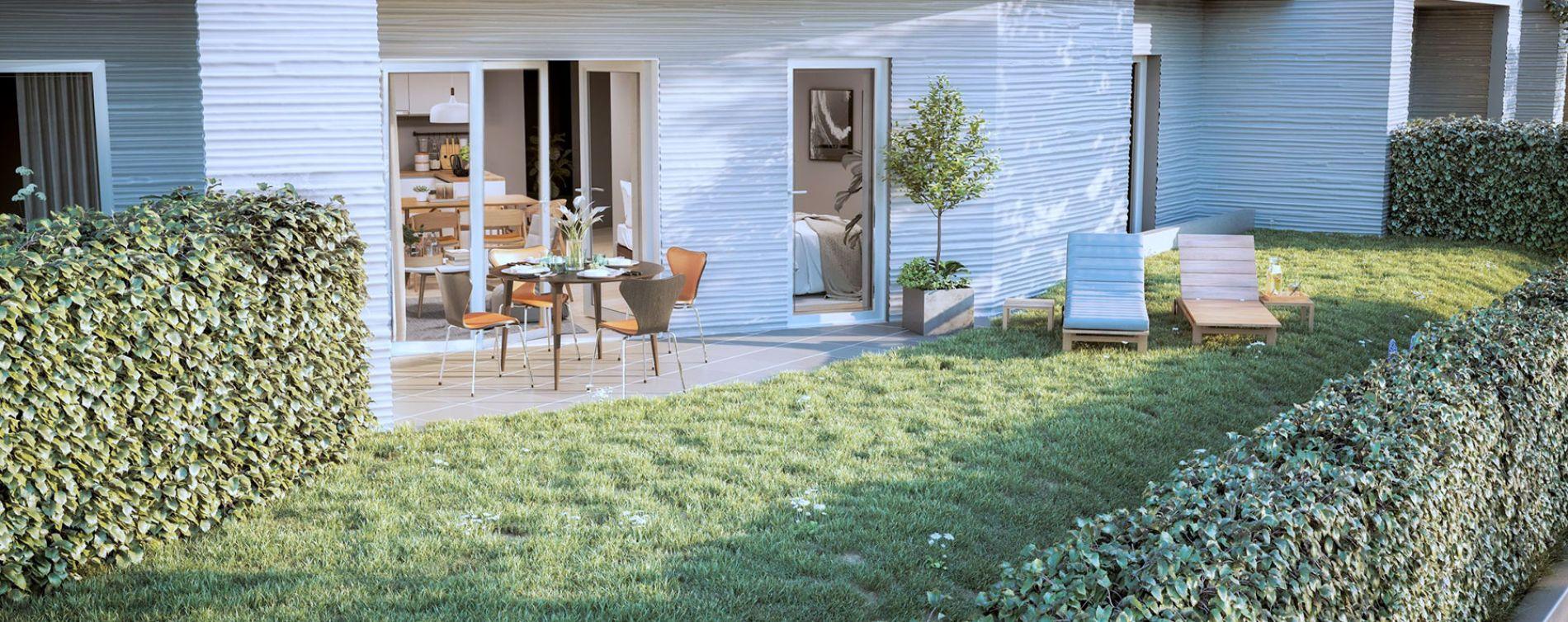 Auribeau-sur-Siagne : programme immobilier neuve « Ellipse » (3)