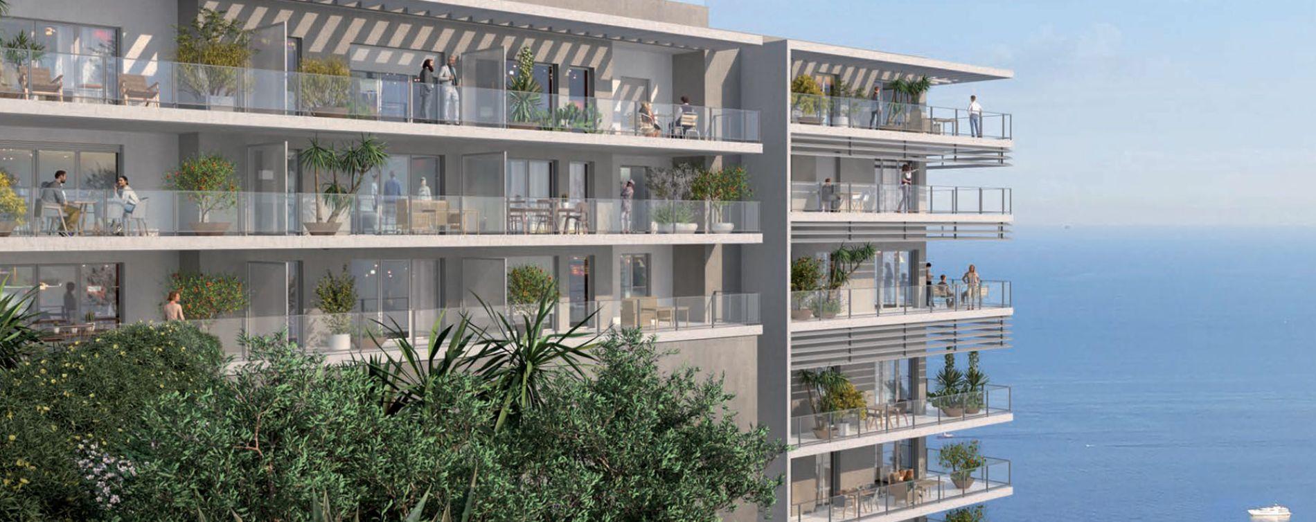 Beausoleil : programme immobilier neuve « Blue Roc » en Loi Pinel (2)